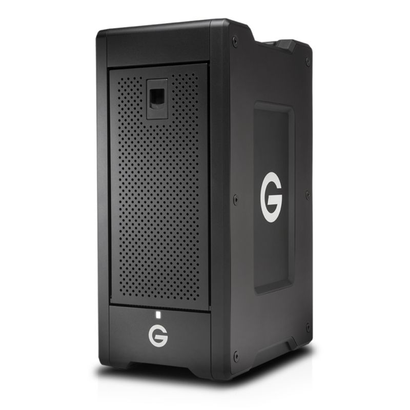 G-Technology G-SPEED Shuttle XL NAS 8-Bay 48TB Thunderbolt 2 RAID schwarz