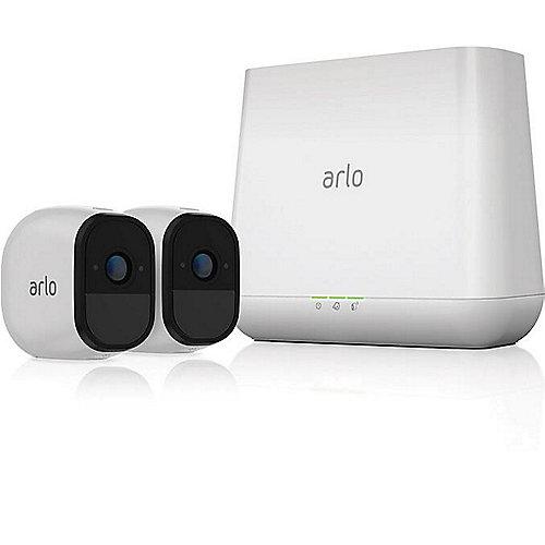 Netgear Arlo Pro VMS4230 Sicherheitssystem 2x HD Kamera and Basisstation Sirene | 0606449113549
