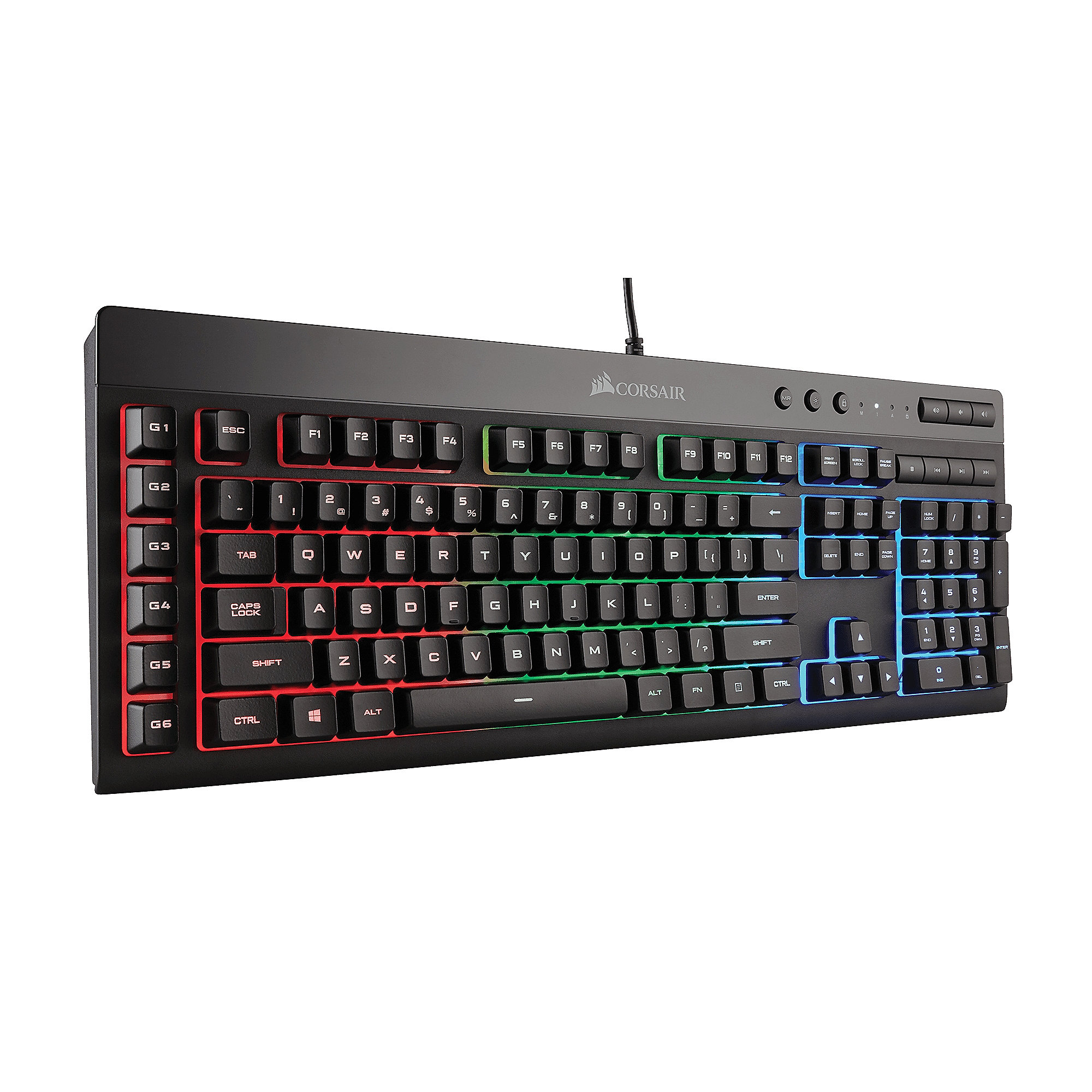 Corsair Gaming K55 RGB LED Tastatur
