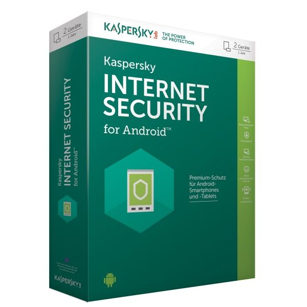 Kaspersky Internet Security for Android 2Geräte 1Jahr Minibox