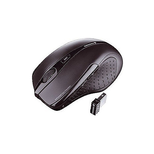 Cherry MW 3000 Wireless Nano Mouse Schwarz