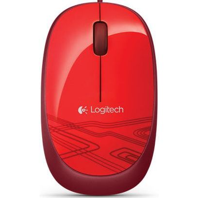 Logitech Mouse M105 Rot