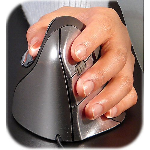 Evoluent Vertical Mouse 4 Linke Hand ergonomisc...