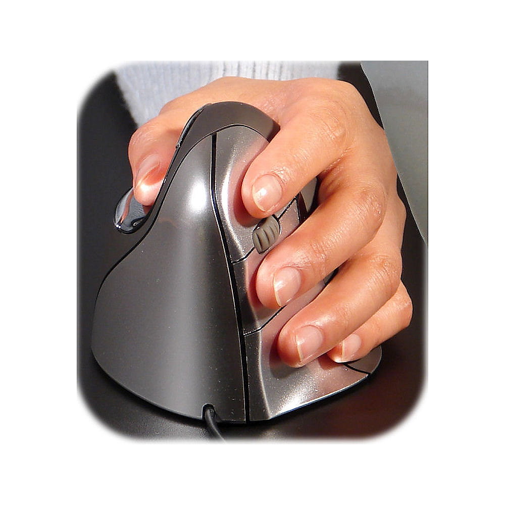 Evoluent Vertical Mouse 4 Linke Hand ergonomisch USB
