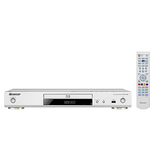 Pioneer BDP-X300-S 3D-Blu-ray Player WiFi HDMI UHD Video Scaler weiß