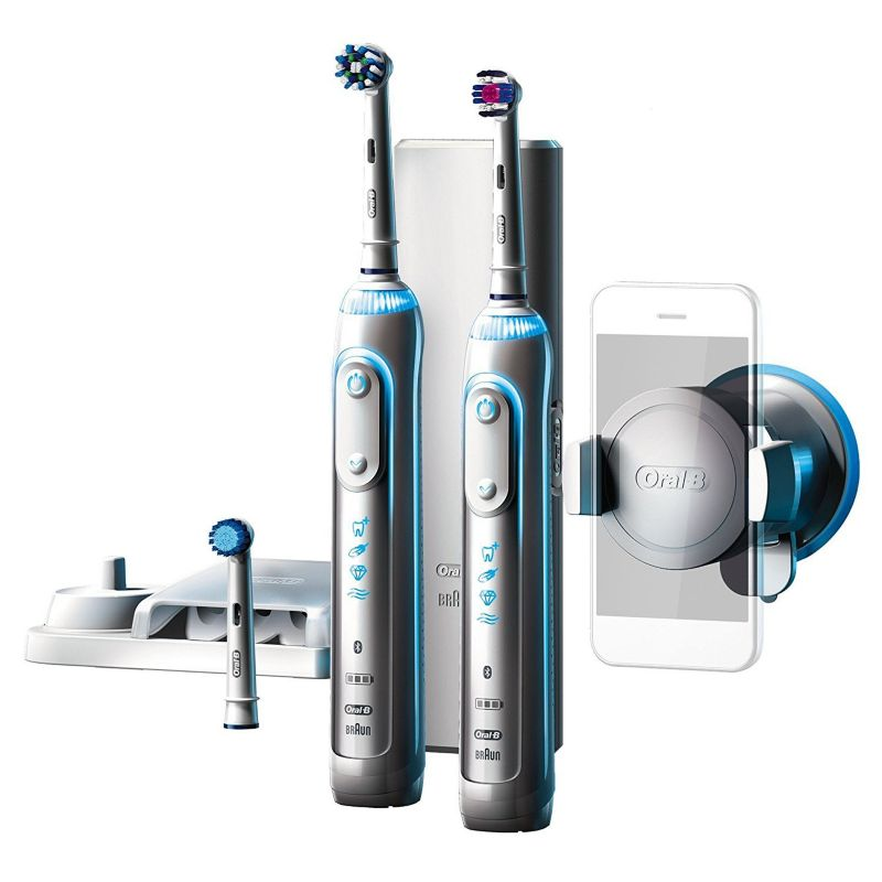 braun oral b genius 8900 elektrische zahnb rste mit 2 handst ck bluetooth cyberport. Black Bedroom Furniture Sets. Home Design Ideas