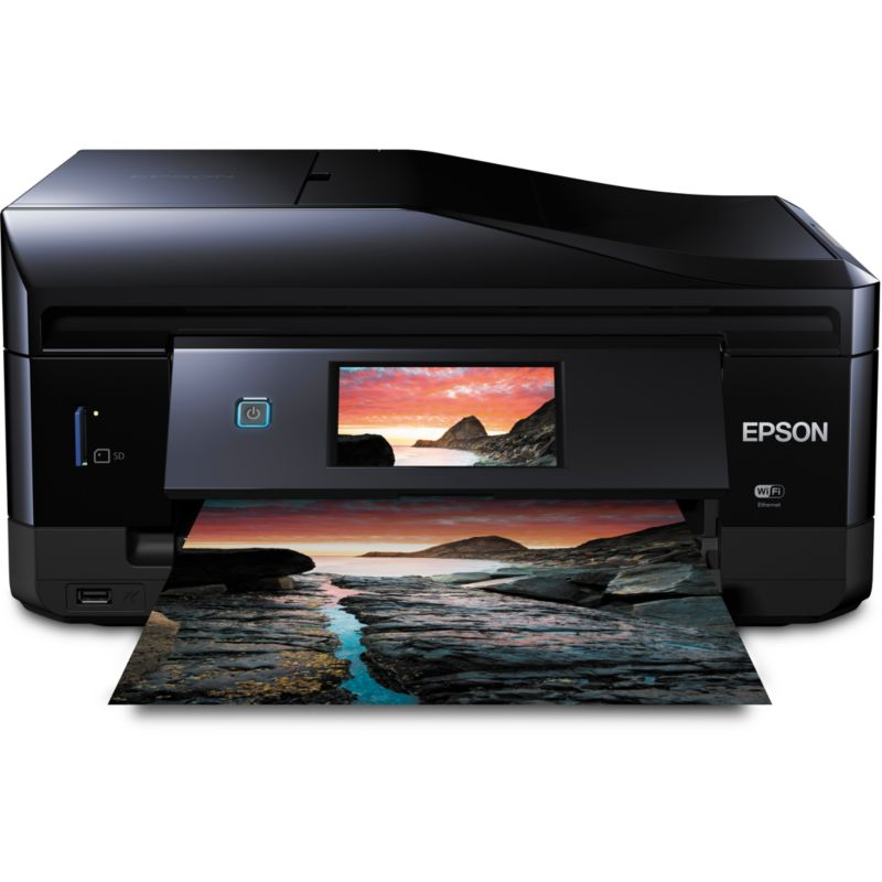 EPSON Expression Photo XP-860 Multifunktionsdrucker Scanner Kopierer Fax WLAN