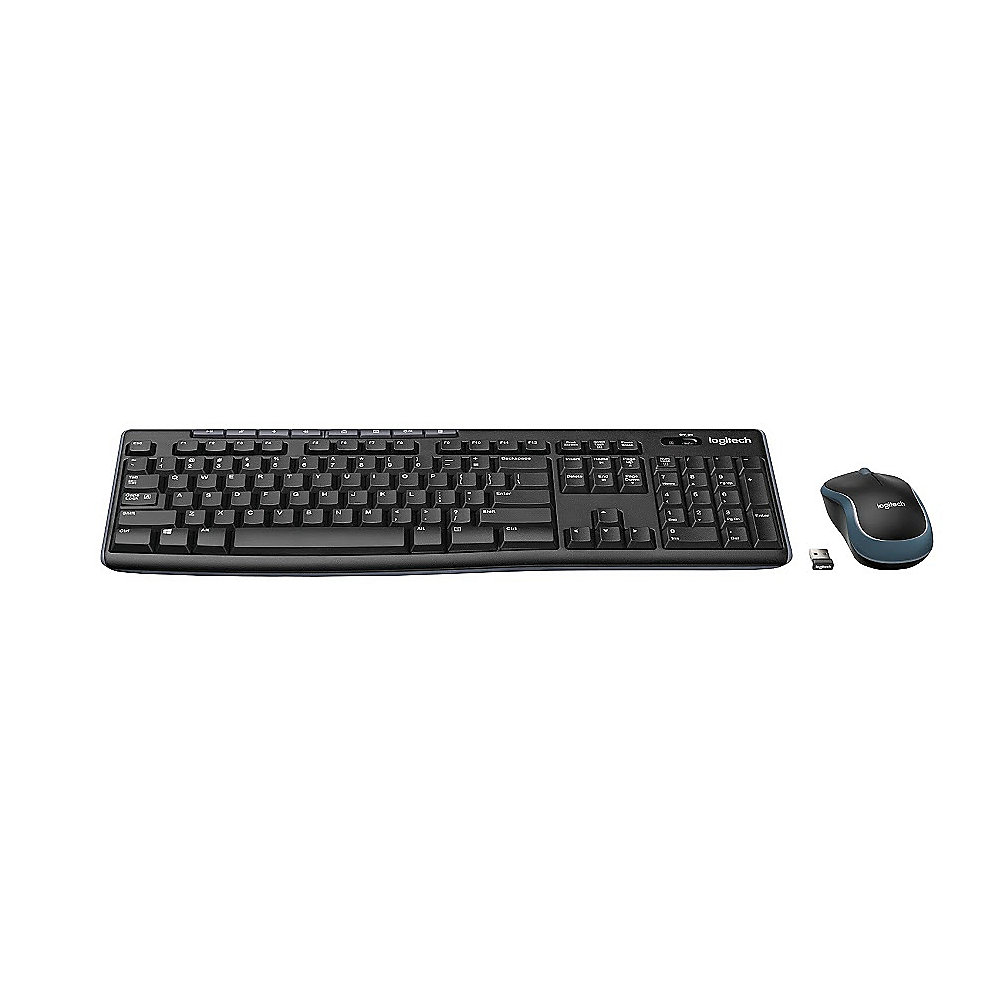 Logitech MK270 Wireless Desktop Maus-Tastaturkombination