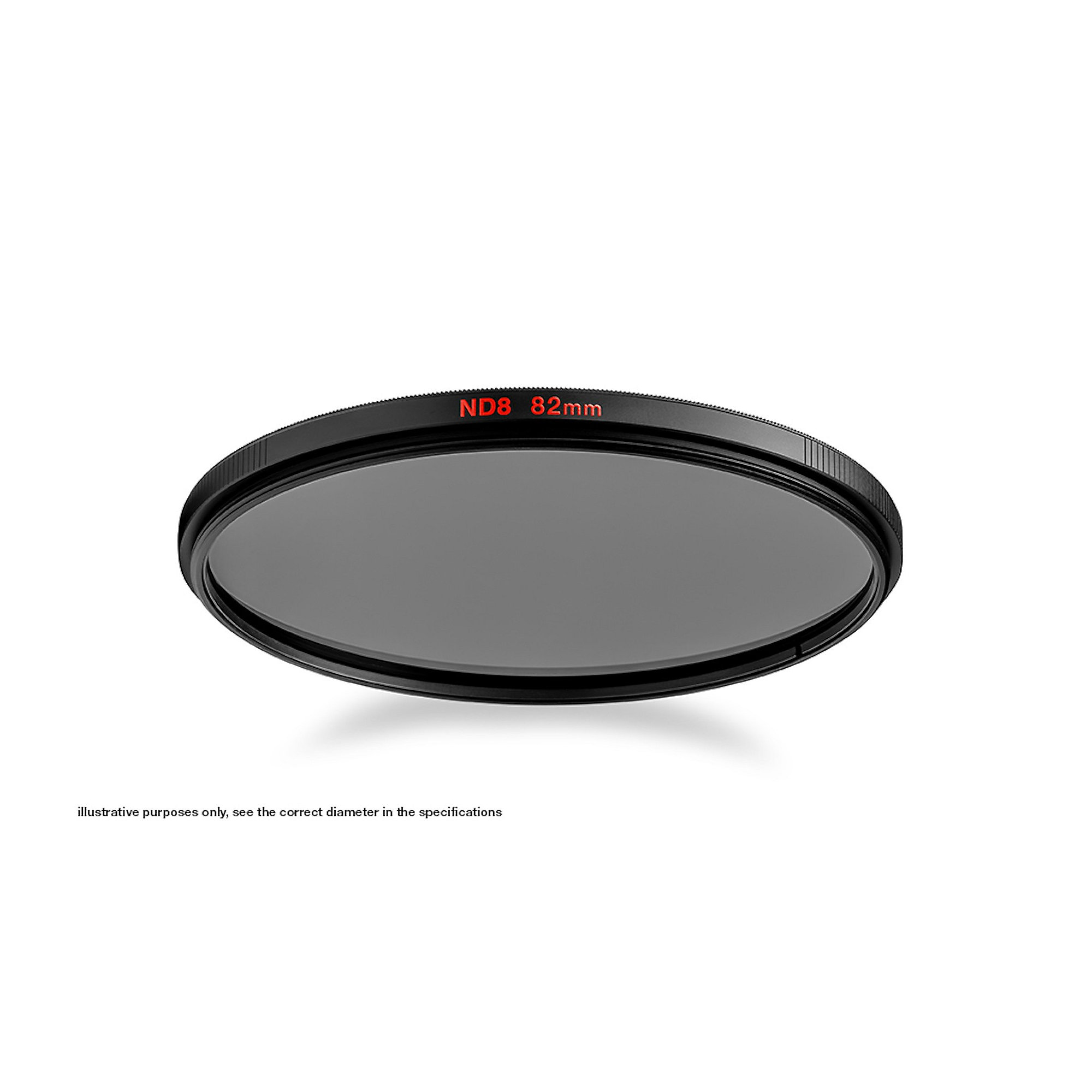 Manfrotto ND8 Graufilter 52 mm