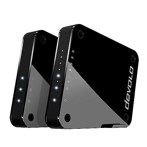 GigaGate Starter Kit (2000Mbit/s, WiFi ac Bridge, 2 Adapter, WLAN AP) | 4250059698550