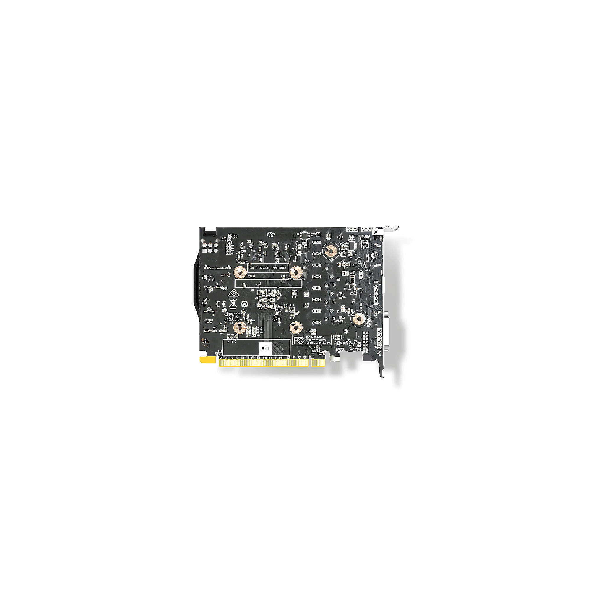 Zotac GeForce GTX 1050 OC 2GB GDDR5 Grafikkarte DVI/HDMI/DP