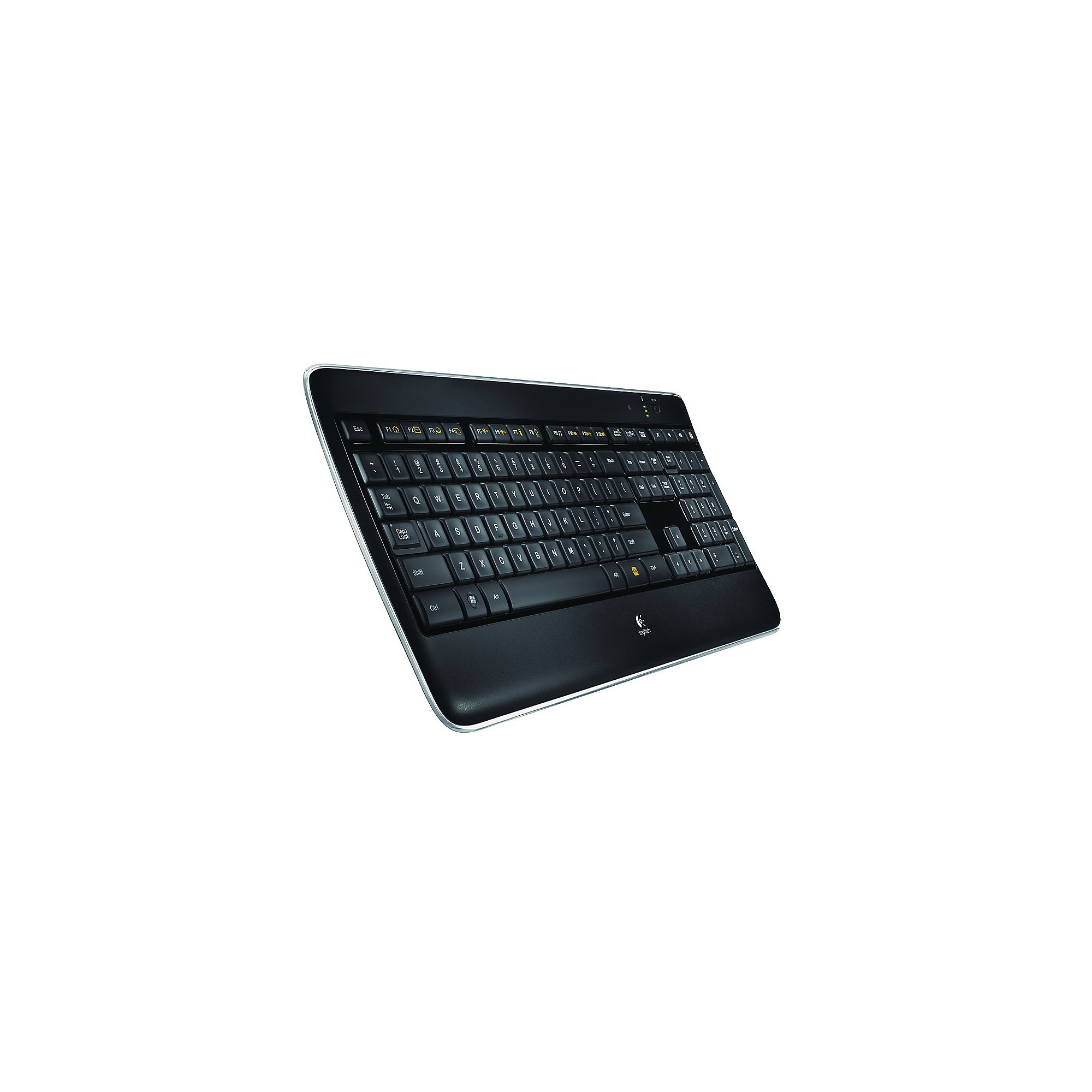 Logitech Wireless Illuminated Keyboard K800 schwarz