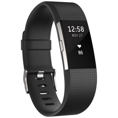 Fitbit  Charge 2 Armband zur Herzfrequenz- und Fitnessaufzeichnung schwarz large | 0816137020244