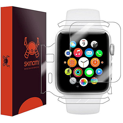 Skinomi Full Body Schutzfolie für Apple Watch Serie 2 und Serie 3 42mm