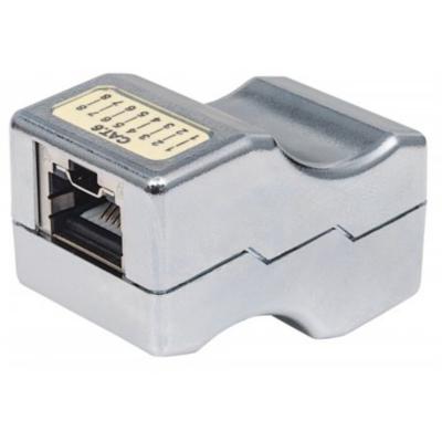 Intellinet  Abschließbare Cat6 Inline-Kupplung geschirmt FTP Metall   0766623790802
