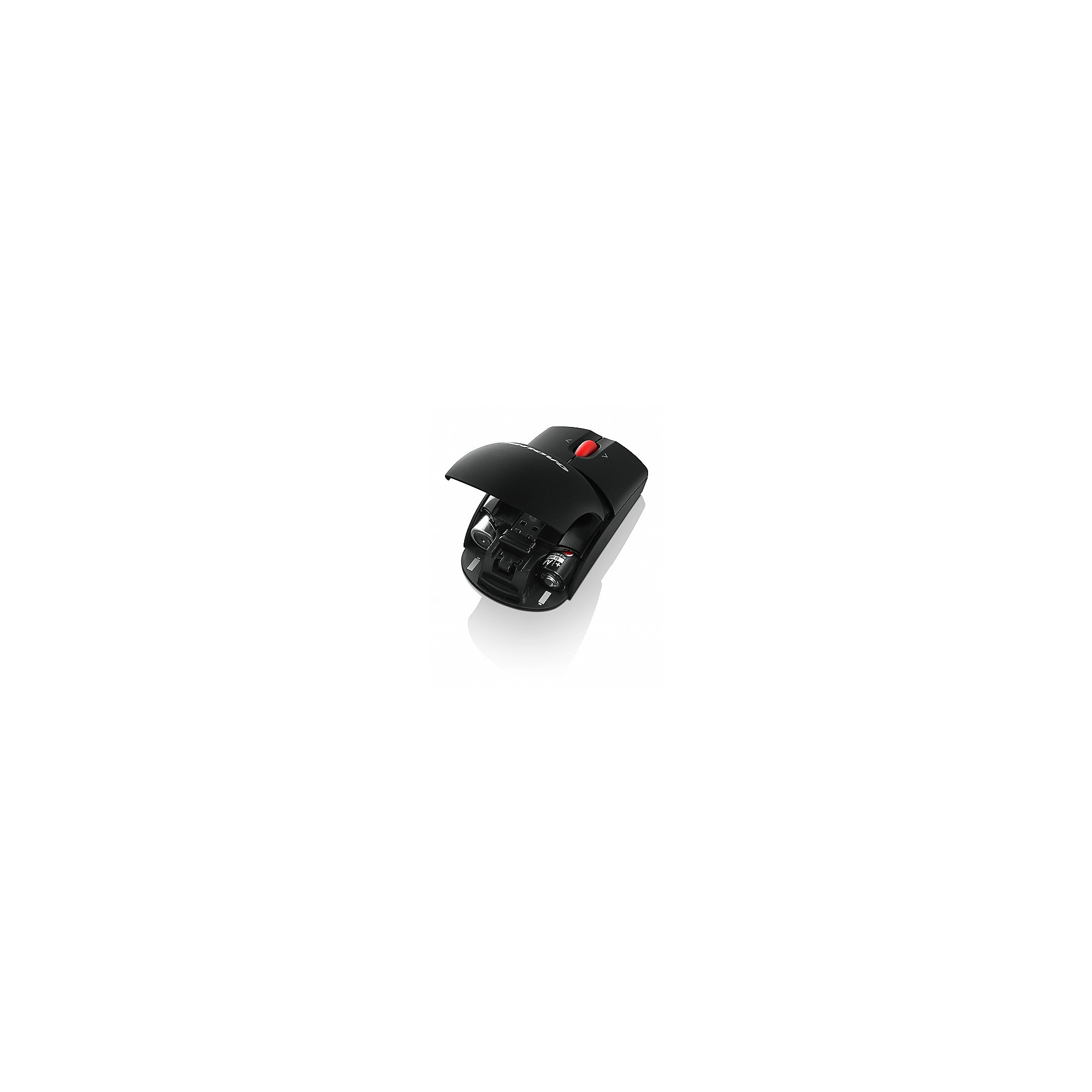 Lenovo Wireless Laser Mouse schwarz (0A36188)