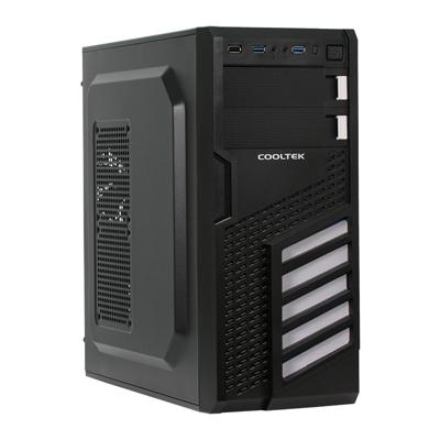 Cooltek  KX White Midi Tower ATX Gehäuse schwarz/weiß USB3.0 | 4250140363978