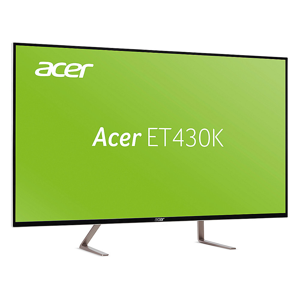 "ACER ET430Kwmiippx 109cm (43"") LED, UHD, IPS, 5ms, HDMI, USB 3.0, DP, mini-DP"