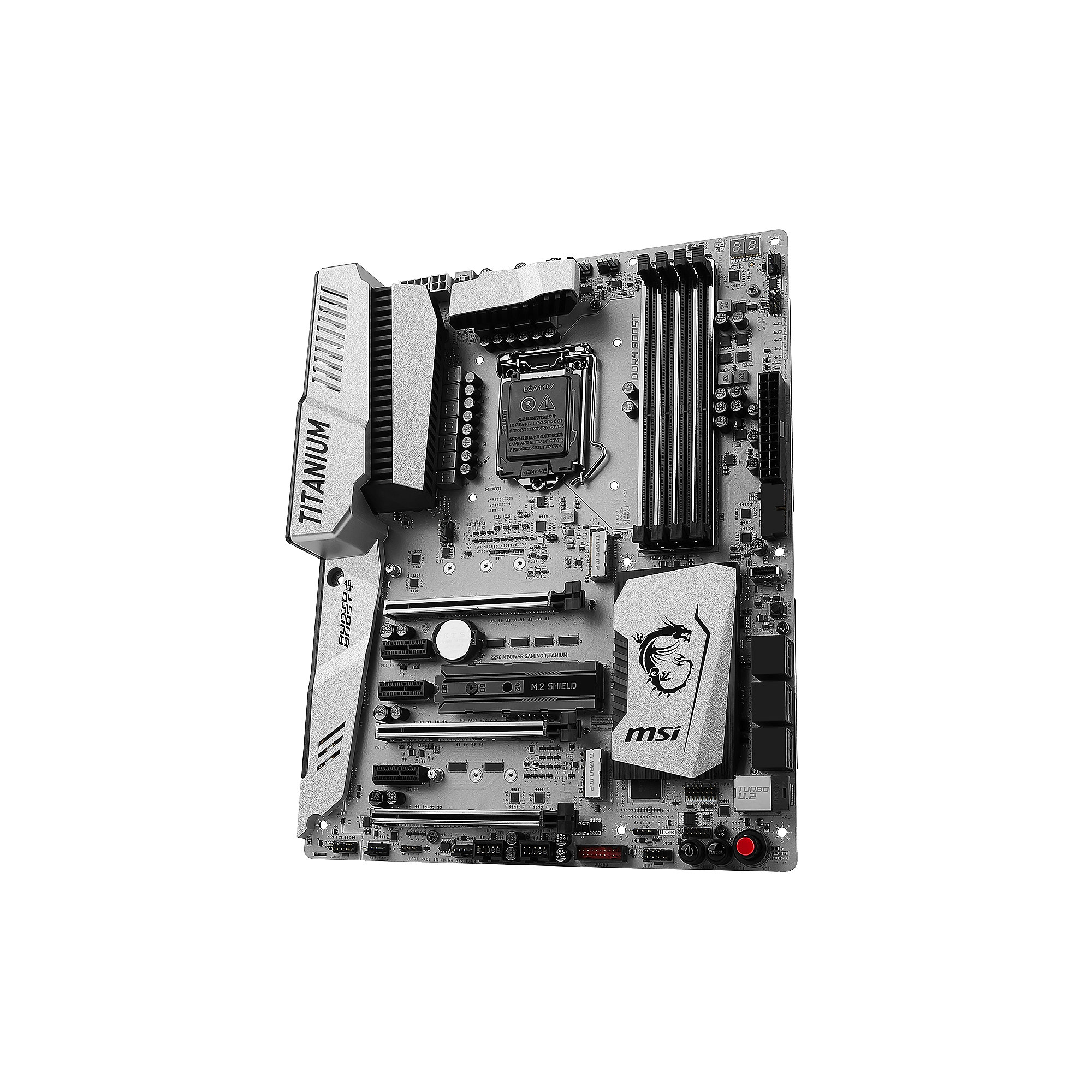 MSI Z270 MPOWER Gaming Titanium Edition ATX Mainboard Sockel 1151