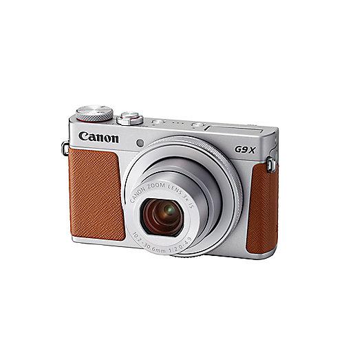 CP7002-3FU Canon PowerShot G9 X Mark II Digitalkamera silber
