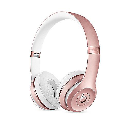 Beats Solo3 Wireless On-Ear Kopfhörer roségold | 0190198084606