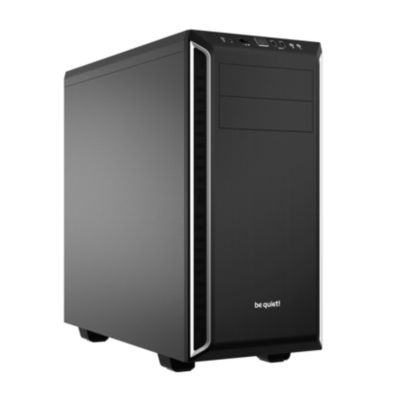 be quiet!  Pure Base 600 Silber Midi Tower Gehäuse ATX/mATX/Mini-ITX | 4260052185421