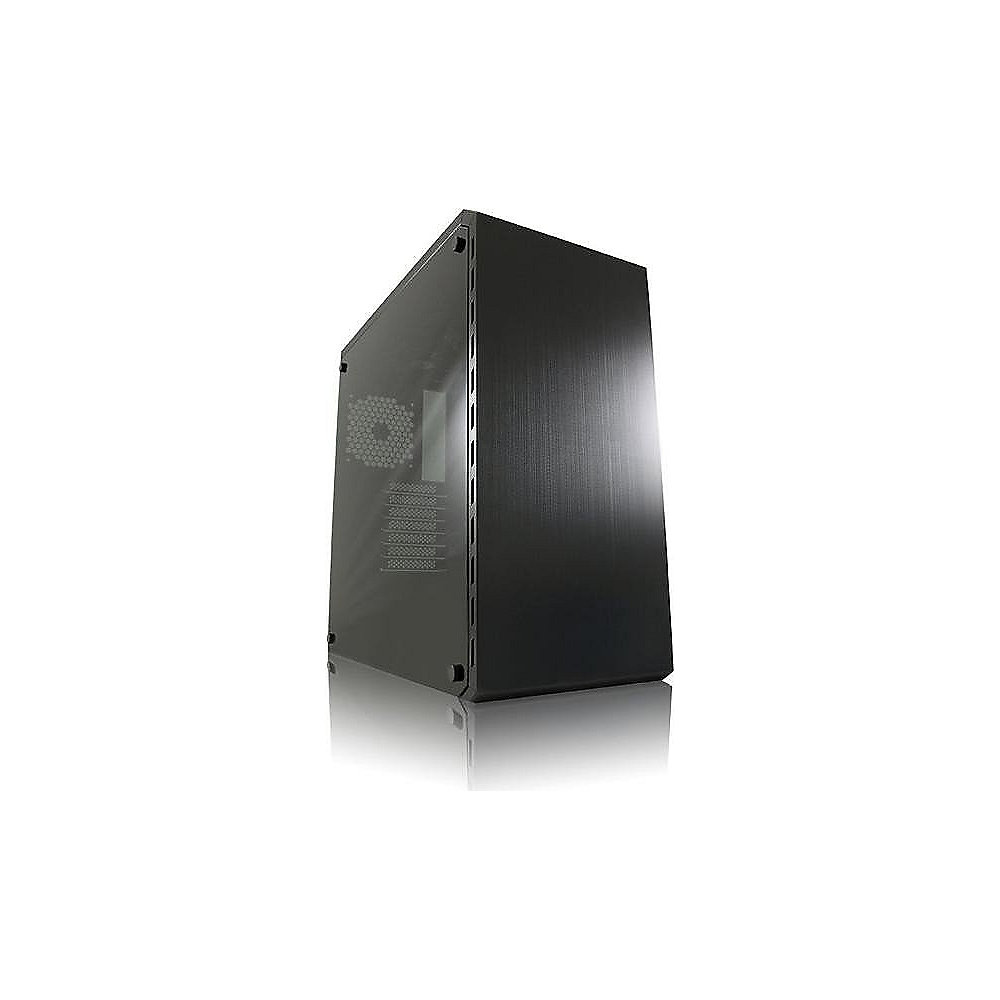 LC-Power 986B Dark Shadow Midi Tower Gaming Gehäuse Schwarz mit Seitenfenster