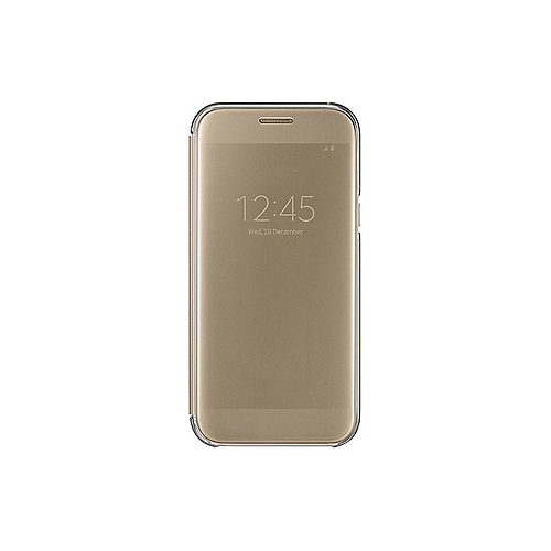 Samsung EF-ZA520 Clear View Cover für Galaxy A5 (2017), Blau