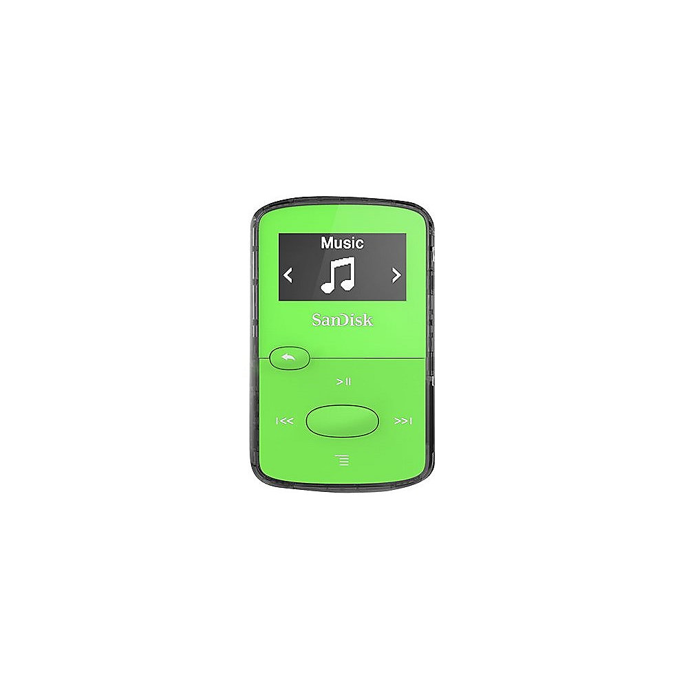 SanDisk Clip JAM MP3 Player 8GB grün