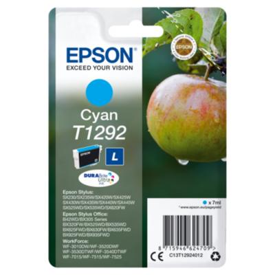 Epson  C13T12924012 Druckerpatrone T1292 cyan | 8715946624709