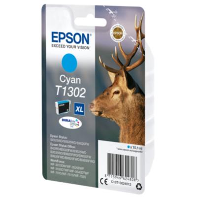 Epson  C13T13024012 Druckerpatrone T1302 XL Cyan | 8715946624808