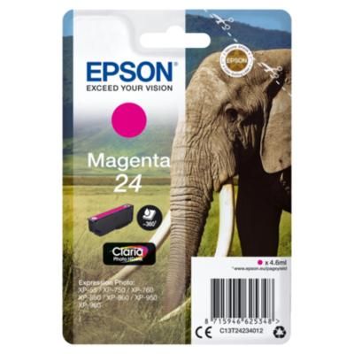 Epson  C13T24234012 Druckerpatrone 24 Claria Photo HD magenta | 8715946625348