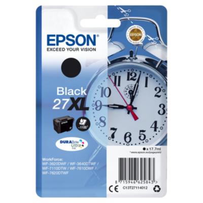 Epson  C13T27114012 Druckerpatrone 27XL schwarz DURABrite Ultra Ink   8715946625843