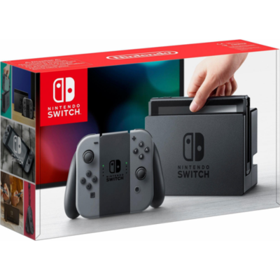 Nintendo  Switch Konsole + Joy-Con grau | 0045496452315