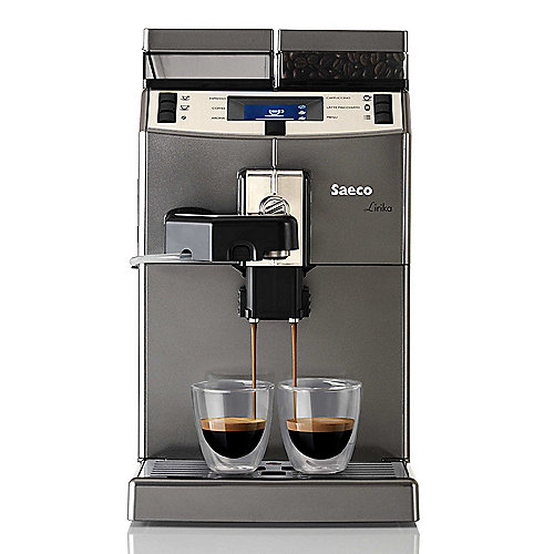 Saeco 10004768 Lirika One Touch Cappuccino Kaffeevollautomat Titan | 8710103747666