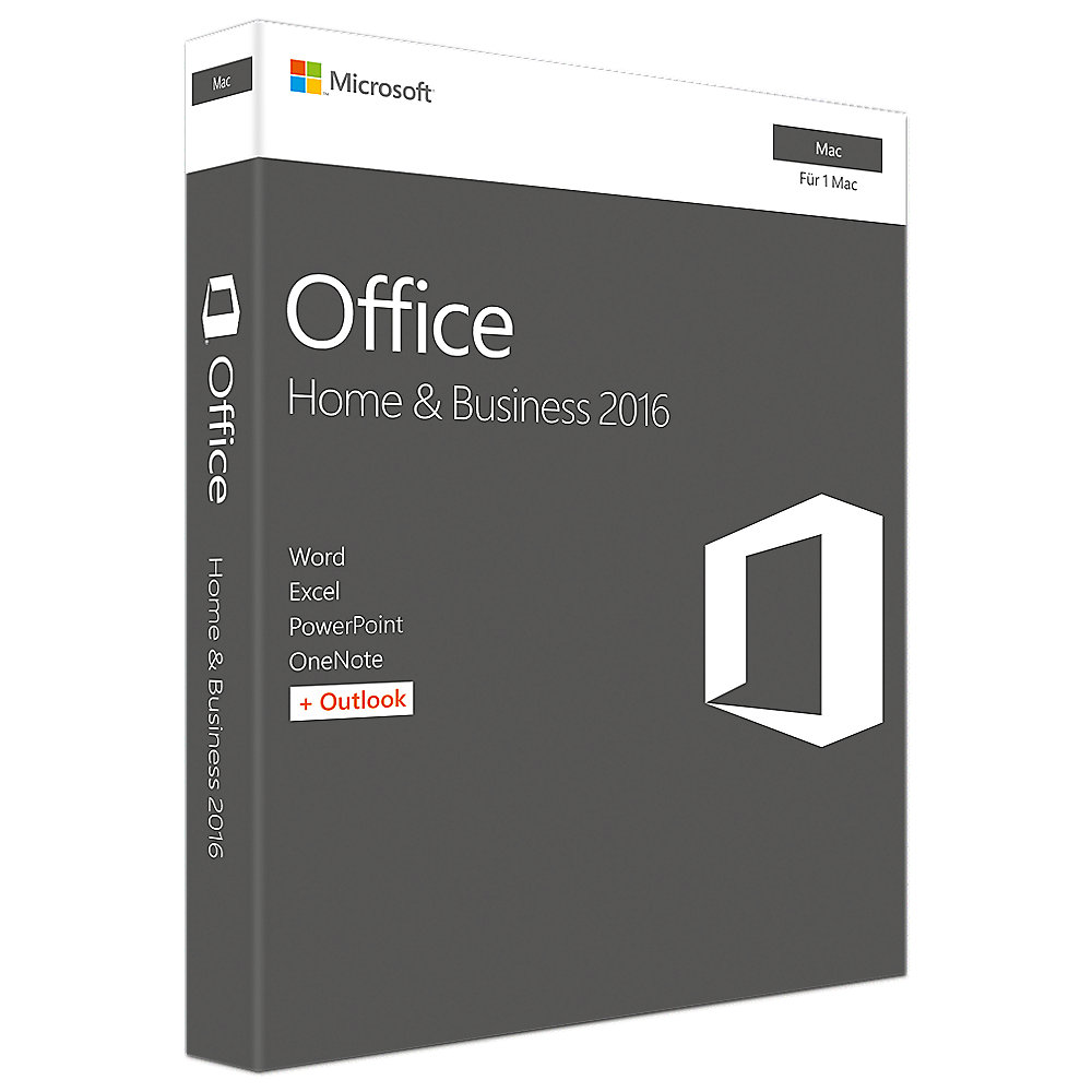 Microsoft Office 2016 Home & Business Mac PKC (P2)
