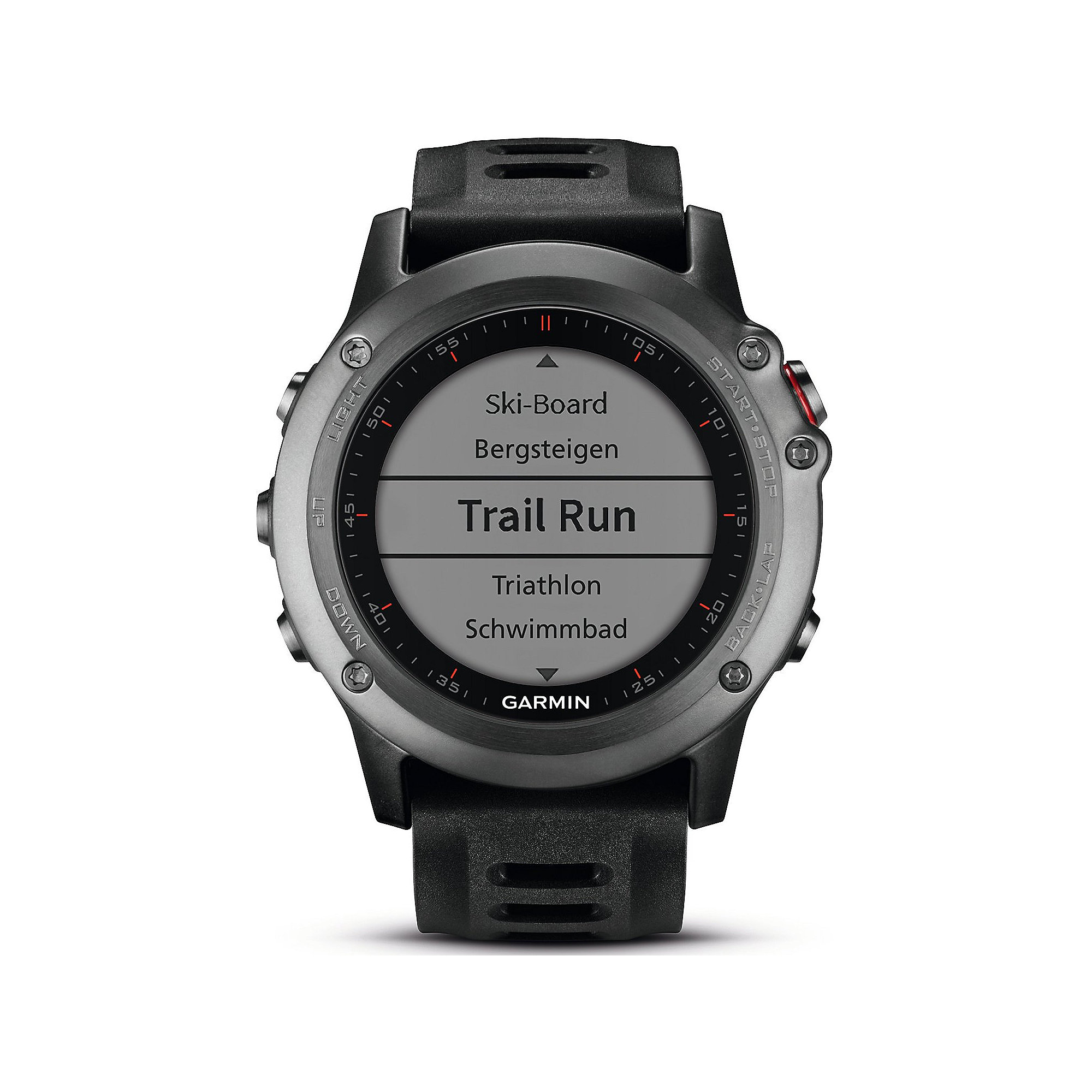 Garmin Fenix 3 Fitnesstracker grau