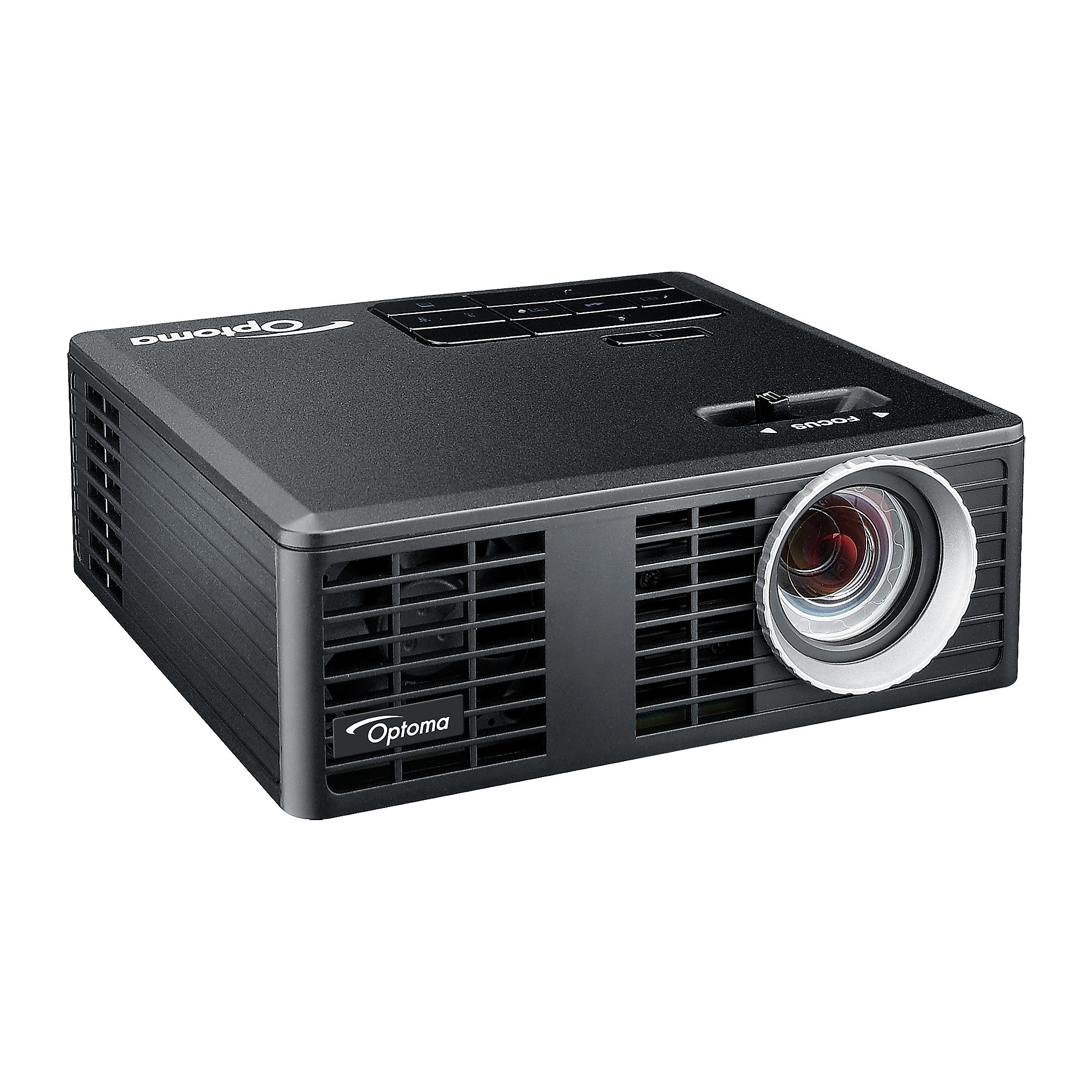 Optoma ML750e mobiler LED-Beamer 700 ANSI-Lumen 3D-Ready VGA/HDMI/USB/WLAN