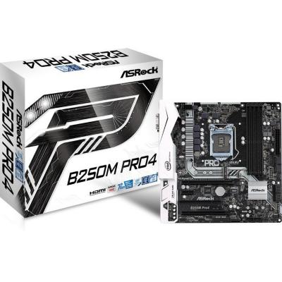 ASRock  B250M Pro4 M.2/HDMI/DVI/VGA/USB3.0 mATX Mainboard Sockel 1151 | 4717677332544