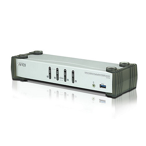 Aten CS1914 4-Port KVMP Switch DP/Audio/USB3.0