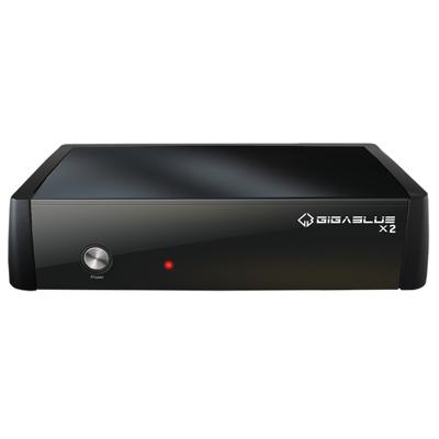 Gigablue  HD X2 Linux Receiver (eSATA, USB, HDMI, LAN) DVB-C/ T2 Tuner   4260190961772