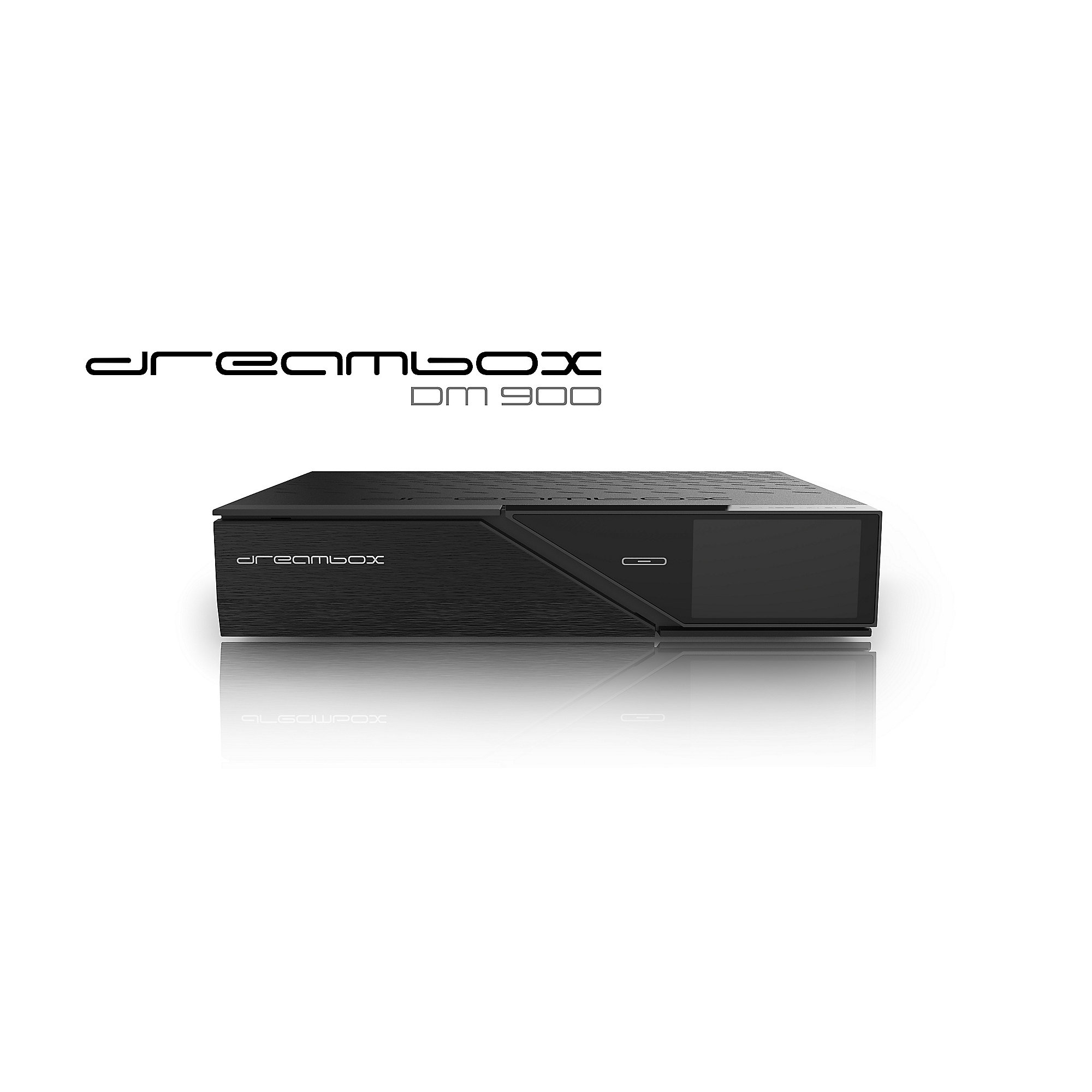 Dreambox DM900 4K UHD DVB-C/T2HD-Receiver 1TB PVR, Linux HDMI USB3.0
