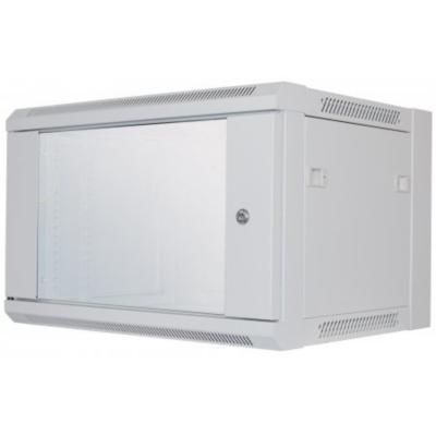 Intellinet  19″ Wandverteiler 370 (H) x 570 (B) x 450 (T) mm 6HE FP grau | 0766623711722