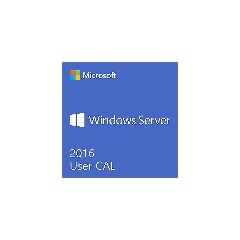 Windows Remote Desktop Services CAL 2016 5 User CAL, Card Box