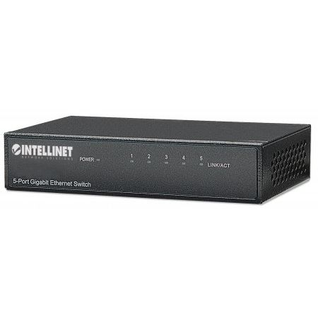 Intellinet 5-Port Gigabit Switch
