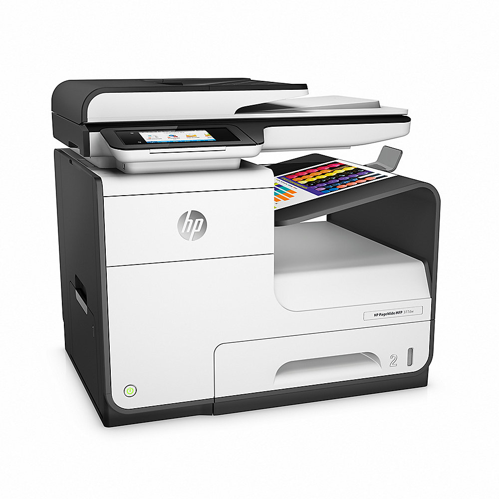 HP PageWide 377dw Multifunktionsdrucker Scanner Kopierer Fax LAN WLAN
