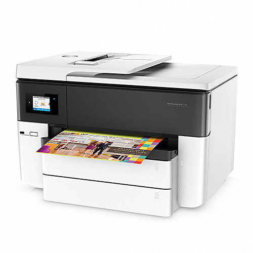 HP OfficeJet Pro 7740 Multifunktionsdrucker Scanner Kopierer Fax A3 LAN WLAN