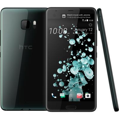 HTC  U Ultra brilliant black Android Smartphone | 4718487701803