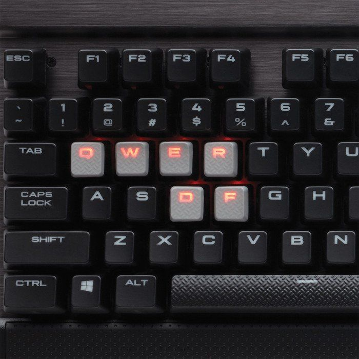 Corsair Gaming K70 LUX Red LED mechanische Tastatur Cherry MX Brown