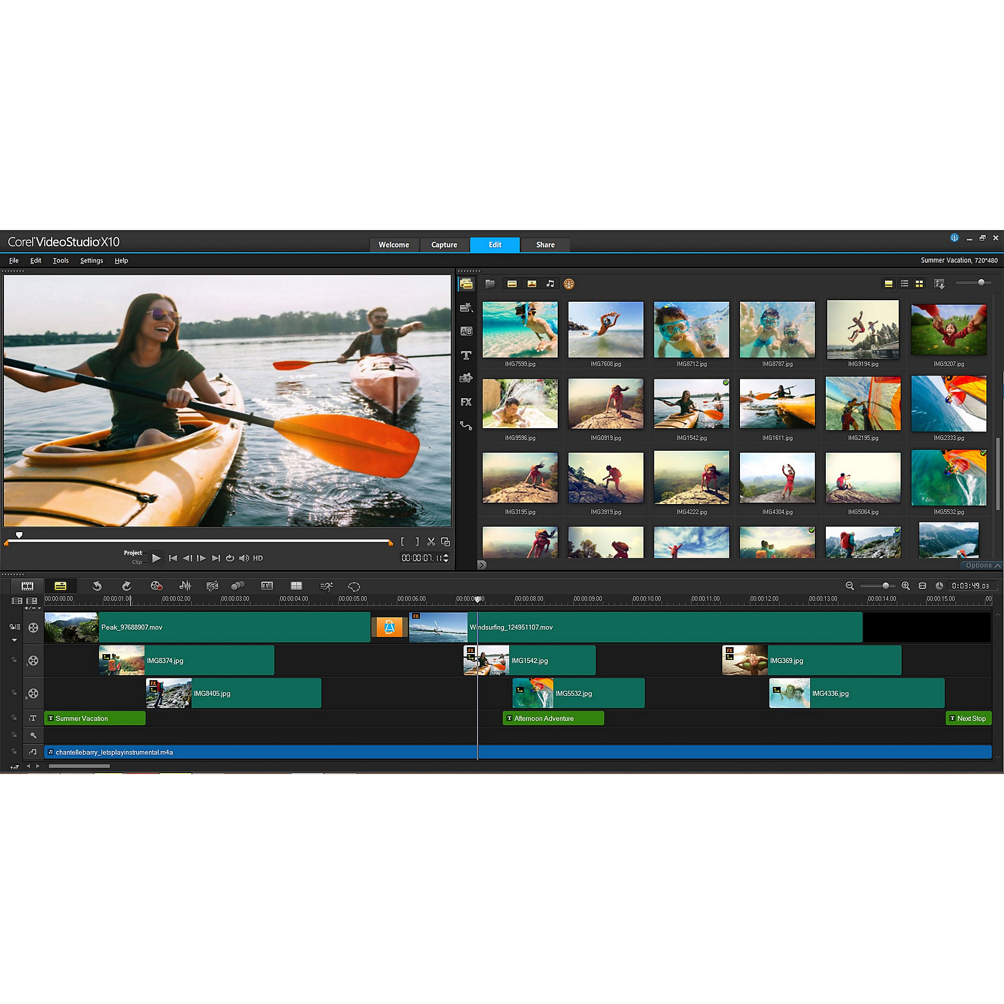 Corel VideoStudio ULTIMATE X10 Box